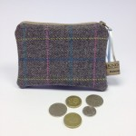 Small tweed purse