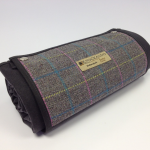 Tweed picnic rug